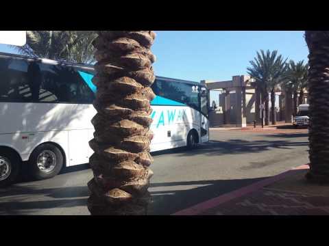 LAX Flyaway Bus to LAX Airport at Gateway Plaza