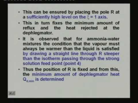 Lecture -17 Vapour Absorption Refrigeration Systems (Contd.)