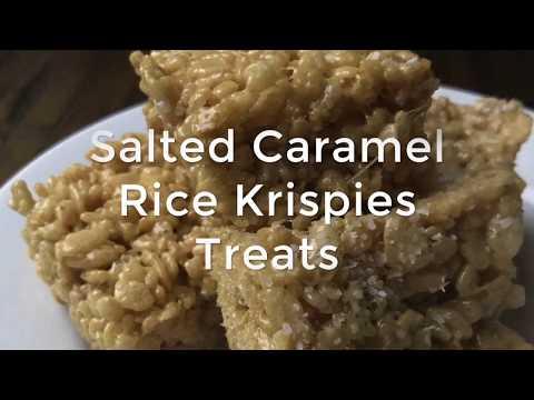 Salted Caramel Rice Krispies Treats Video