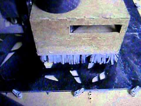 Cutting flat fiberglass sheets