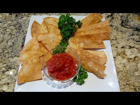 Homemade Tortilla chips - RECIPE