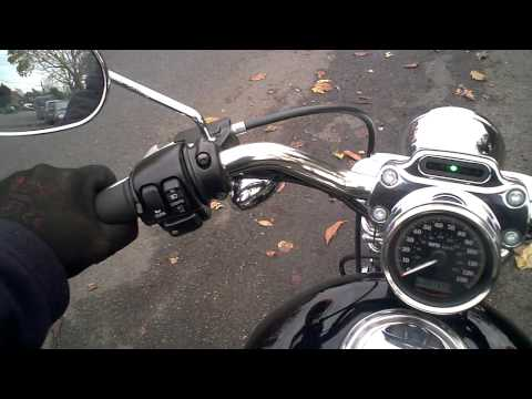 Harley Davidson XL1200 C (as new) 2010 1500 miles