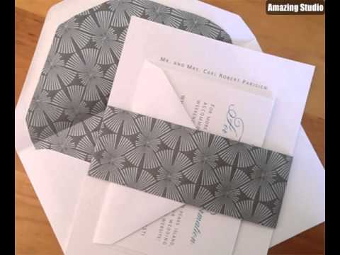 Elegant DIY Invitation Using Microsoft Word