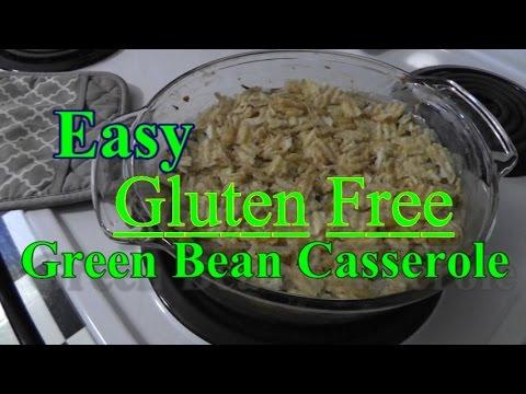 Easy Gluten-Free Green Bean Casserole Recipe