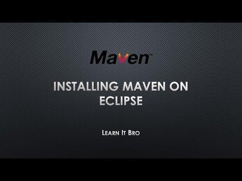 Installing Maven on Eclipse