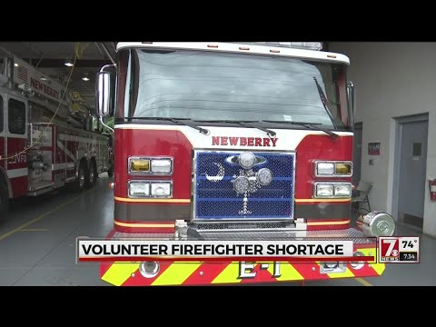 SC fire departments need more volunteer firefighters