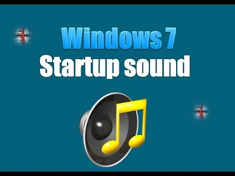 How to change windows startup sound