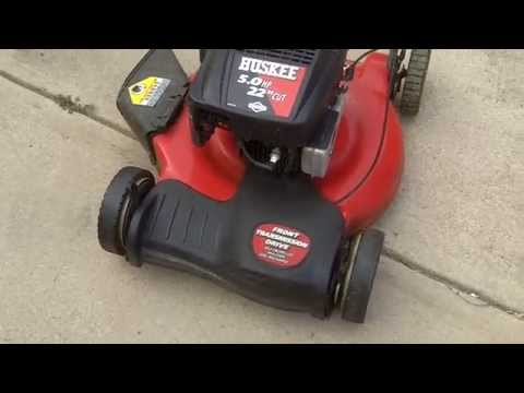 How To Replace A Drive Belt on a MTD Front Wheel Drive Self-Propelled Lawnmower