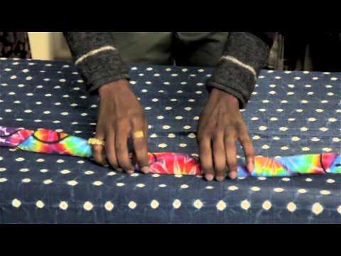 How Do I Fold Bandanas Into Wristbands? : Menswear Magic