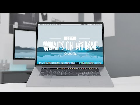 What's on my MacBook Pro (2017)