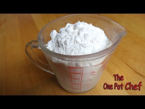 Quick Tips: Home Made Self Raising Flour | One Pot Chef