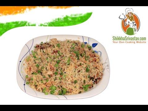 Veg fried Rice Recipe in Hindi वेज फ्राइड राइस बनाने की विधि | How to Make Veg Fried Rice at Home
