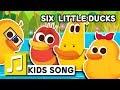 Nursery Rhyme SIX LITTLE DUCKS English Larva KIDS Song