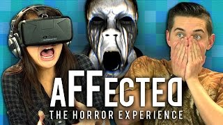 OCULUS RIFT - AFFECTED #1: THE MANOR (Teens React: Gaming)