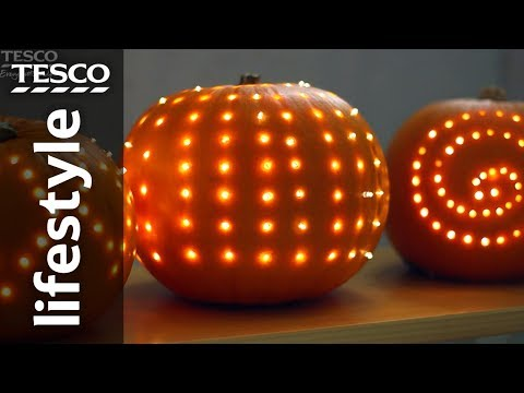 How to carve a pumpkin with a screwdriver | Tesco