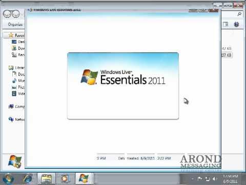 Using Windows 7 - Install Windows Live Essentials Programs