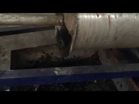 Coconut shell Charcoal machine video