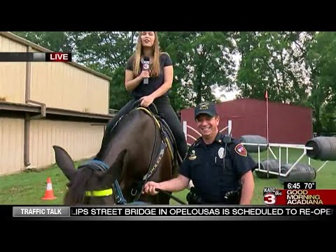 A look at Lafayette Police Mounted PAtrol