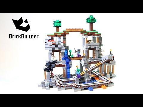 Lego Minecraft 21118 The Mine - Lego Speed Build