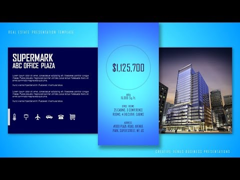 How To Create Beautiful Real Estate, Products, Services, Business, Portfolio in  MS PowerPoint PPT