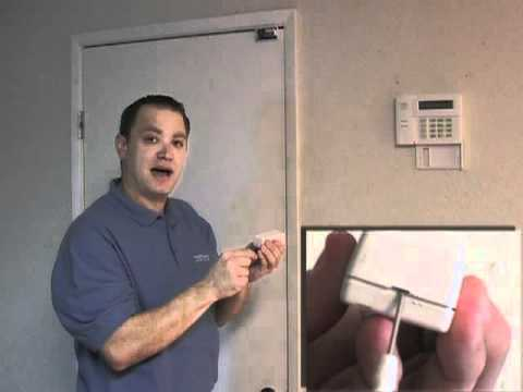How to Replace a Battery in a Wireless Door/Window Sensor