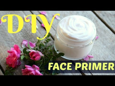 How to make face primer or makeup primer at home / INDIANGIRLCHANNEL TRISHA