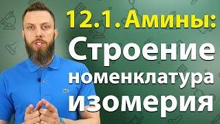 Download 12.1. Амины: Строение, номенклатура, изомерия. ЕГЭ по химии Video
