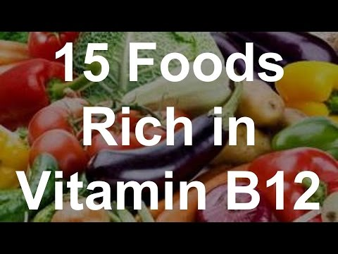15 Foods Rich in Vitamin B12 - Foods With Vitamin B12