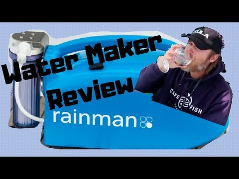 Rainman Water Maker Review - Reverse Osmosis Watermaker For Sailboat
