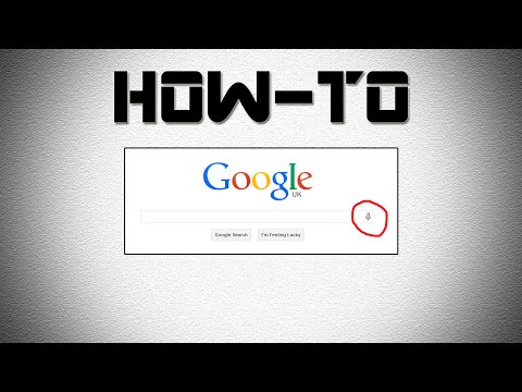 How to Use Google Voice Search on PC