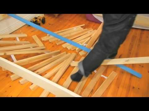 How to repair broken bed easy