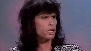 Steven Tyler 1990 Interview clips