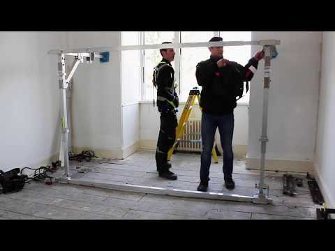 Stay safe & save with the Stronghold fall restraint / barrier system
