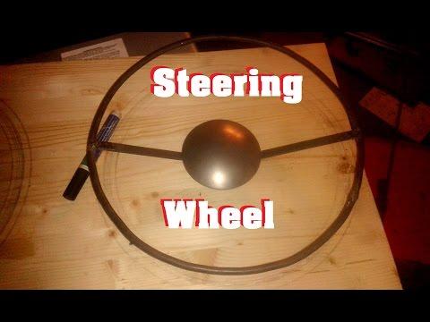 DIY Hot Rod Kart pt 11 Steering wheel