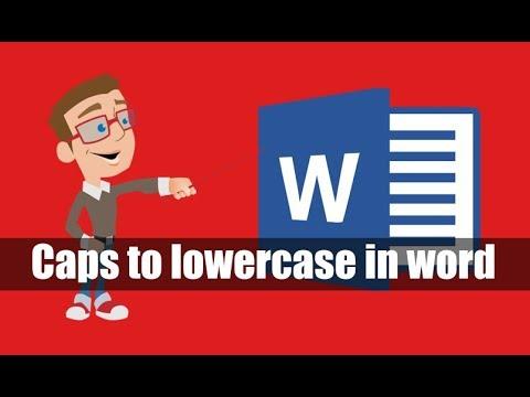 MS Office Word Hidden Tricks ! Word  पर किसी भी uppercase को lowercase में कैसे बदले