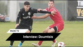 """Δούμτσης: """"Στόχος μας η καταξίωση στο ανδρικό ποδόσφαιρο"""" - PAOK TV"""