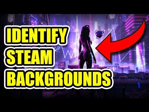 STEAM WALLPAPER FINDER/IDENTIFY/SEARCH - FREE and FAST - WORKING 24/7 - EASY METHOD (NO ADS)