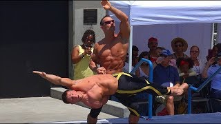 The Atlas Brothers Perform With Amazing Strength and Balance