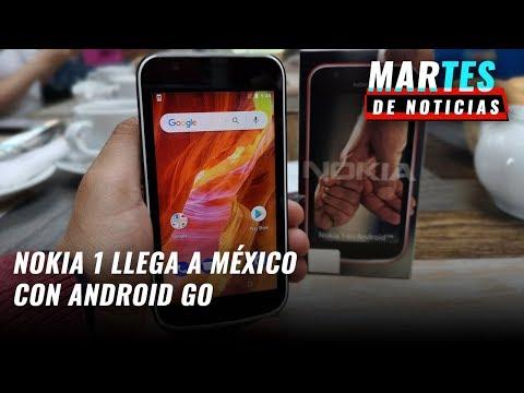 Nokia 1, lanzamiento en México - #MartesDeNoticias