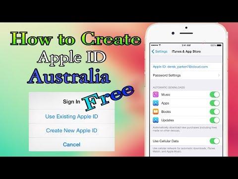 How to Create Apple ID Australia Free iOS 9 - 9.3.5/10 - 10.2.1 iPhone- iPad- iPod T