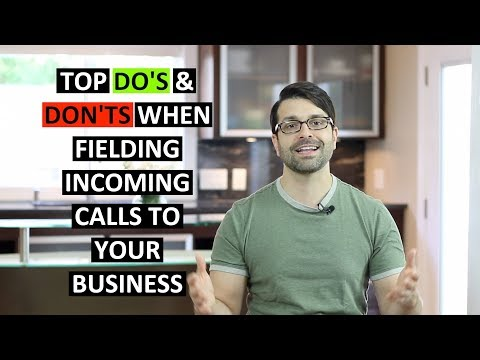 Top 5 Mistakes Small Business Owners Make With Incoming Phone Calls | Small Business BIG IDEA Show