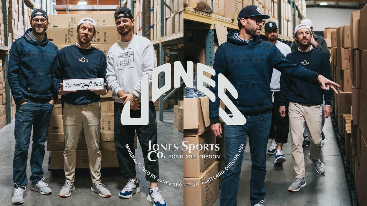 The story behind Jones golf bags