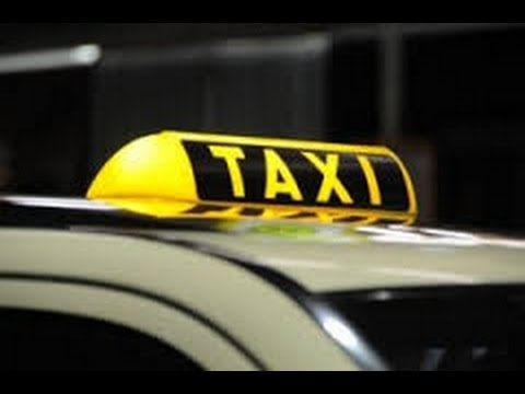 Practical taxi driving test
