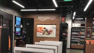 Amazon Go, cashier-free smart grocery store recently opened!