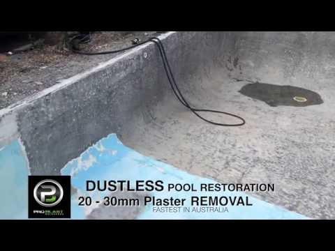 Pool Restoration Dustless Blasting Pro Blast Melbourne