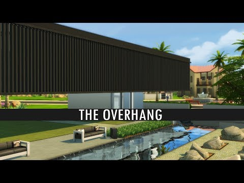 The Sims 4 Speed Build - THE OVERHANG