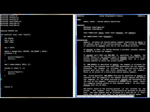 C Programming in Linux Tutorial #036 - Shared Memory