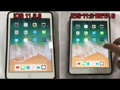 iOS 11.2.6 vs iOS 11.3 beta 6 Speed test on iPad mini 2 | TechViewer