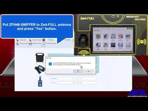 ZFH46 SNIFFER for Hyundai Kia Pin Code Calculation Application