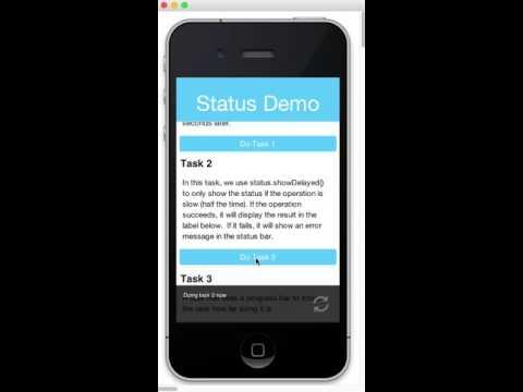 statusbar demo